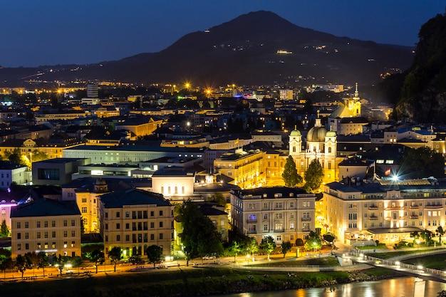 ザルツブルクオーストリア夜
