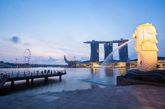 シンガポールマーライオン