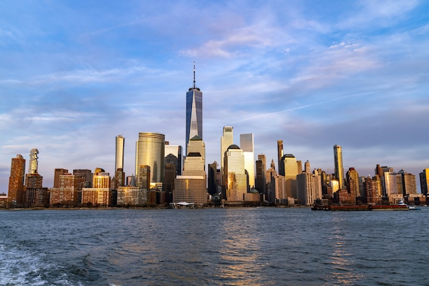 Нижний манхэттен нью-йорк