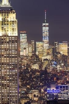 ニューヨークの高層ビル