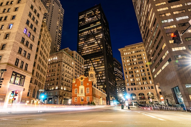 Бостон старый государственный дом