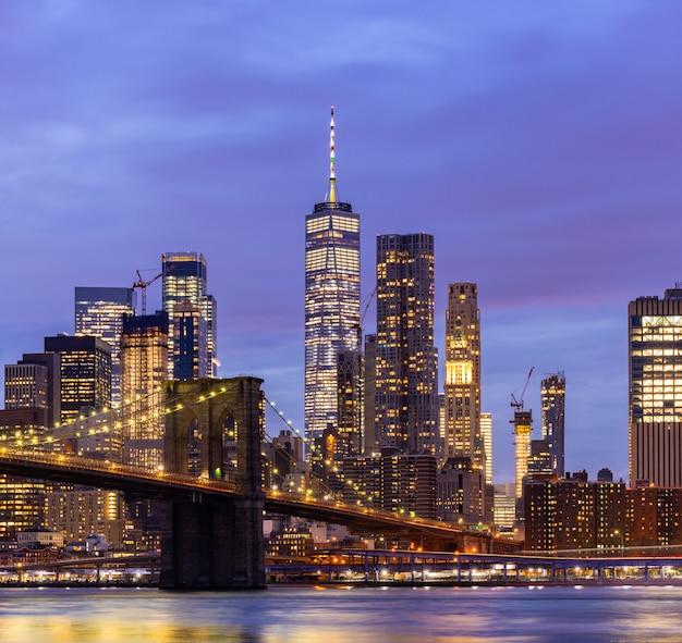 ニューヨークのブルックリン橋
