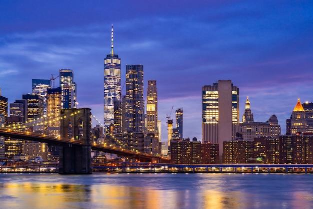 ブルックリンブリッジニューヨーク