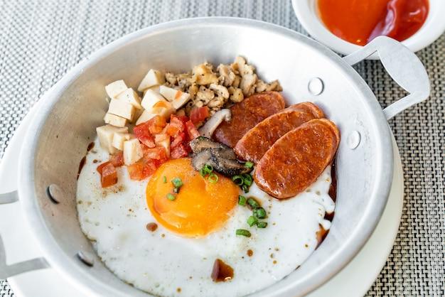 タイの卵フライパン