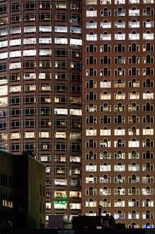 Поздний рабочий городской концепт