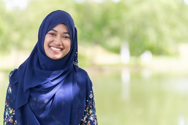 Мусульманская девушка портрет