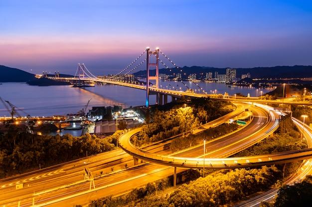 Гонконг цин ма мост