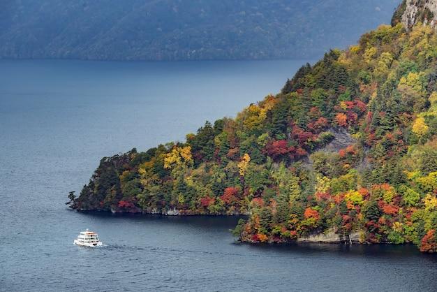 十和田湖空撮