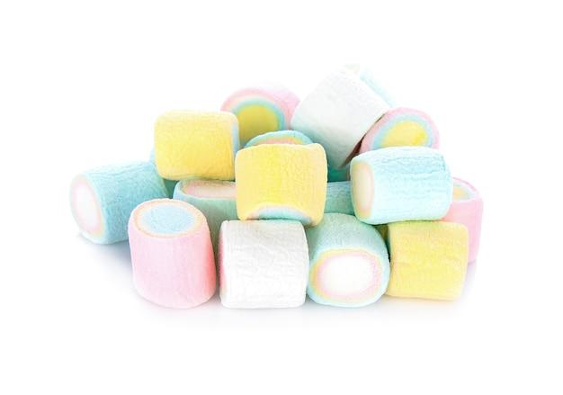 マシュマロ、キャンディ、白、背景