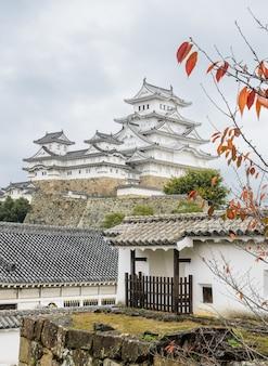 兵庫県姫路城の古代建築