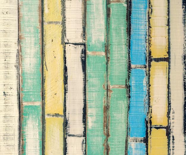 抽象的な古い色の木のテクスチャの背景