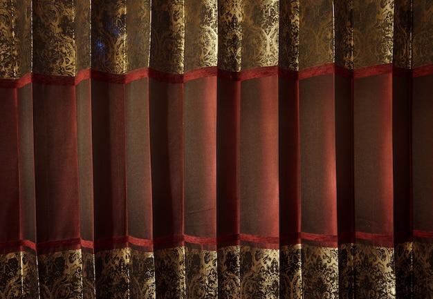 シルク生地の特定のパターンの背景