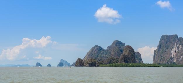 パンガー湾国立公園、タイの石灰岩の島