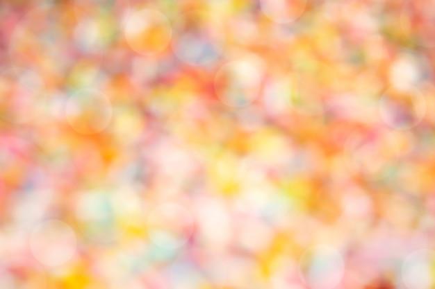 抽象的な色の背景。ボケとライト効果のあるパステル調の色調。