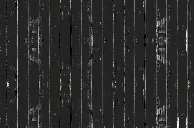 ヴィンテージの黒い木の板の背景