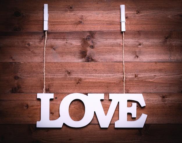 Висит доска любви