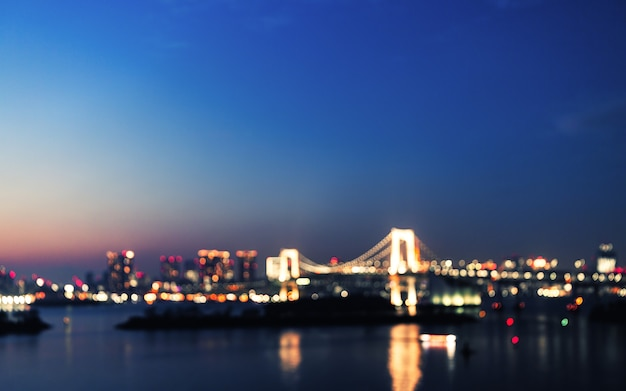 Городской свет боке