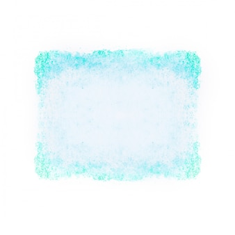 ターコイズ色の水彩テクスチャ背景