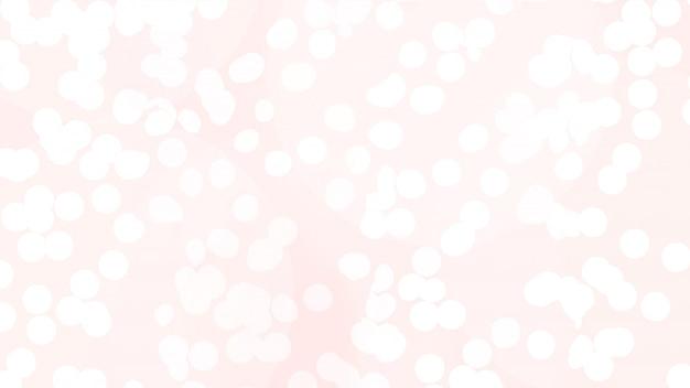 バラのボケクリスマスライトの抽象的なテクスチャ