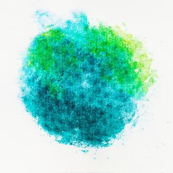 カラフルな明るいインク水彩画と抽象芸術