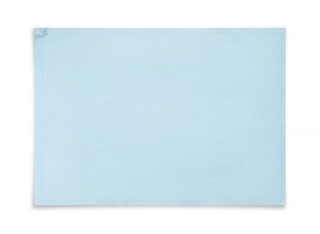 青写真カバー紙の背景。コピースペース用の領域を持つプロジェクトページのブックバインダー。