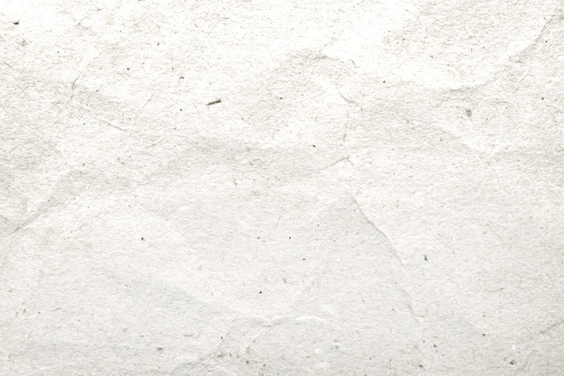 Белый мятой бумаги шаблон и текстуру фона.