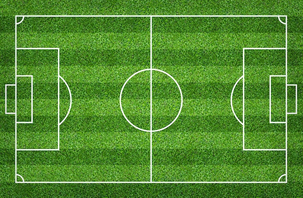 Футбольное поле или футбольное поле для фона