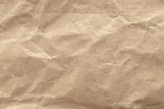 Браун мятой бумаги текстуру фона.