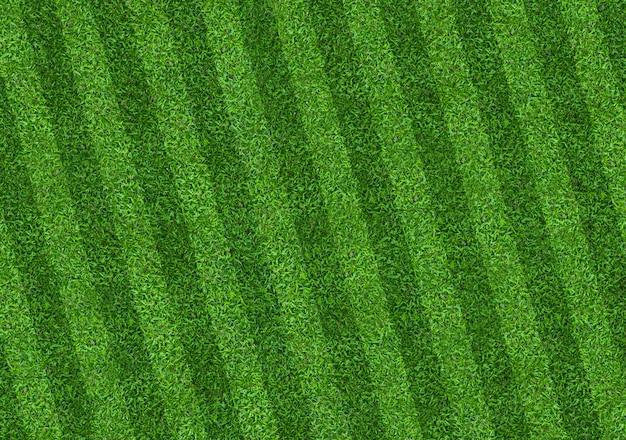 サッカーとフットボールのための緑の芝生フィールドパターン背景。