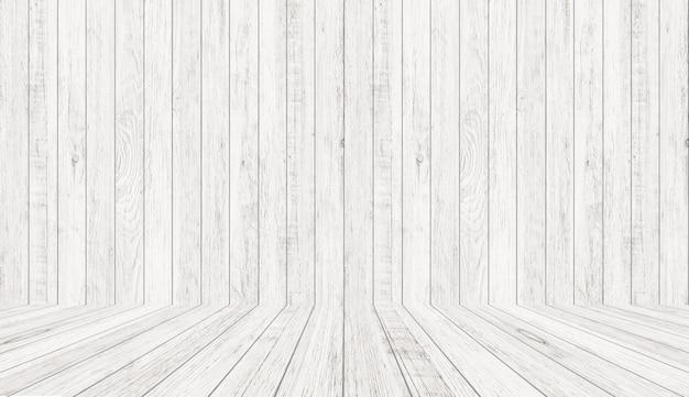 パースペクティブビューでビンテージ木目テクスチャ。空の木造部屋スペースの背景。