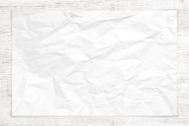 白い木の背景に紙の質感を詰め。