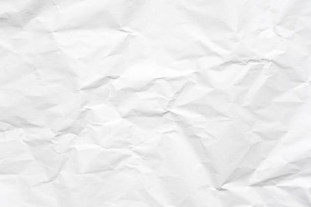 白い紙くずのテクスチャの背景。
