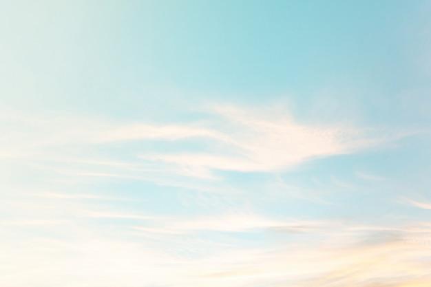 Абстрактное голубое небо