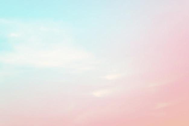 甘い色の抽象的な空の背景。