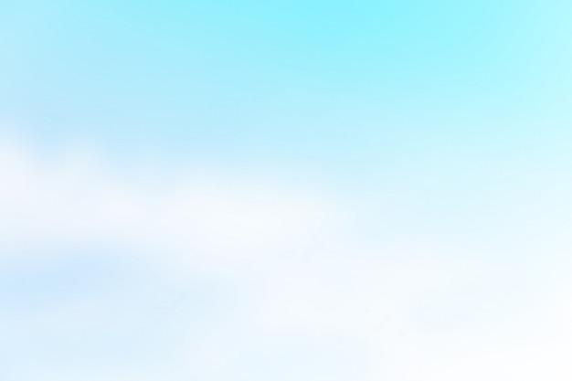 Мягкое небо в пастельных тонах