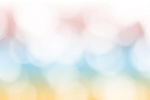カラフルなボケの背景。抽象的なライトデフォーカス壁紙
