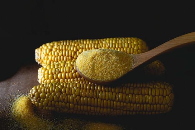作る小麦粉