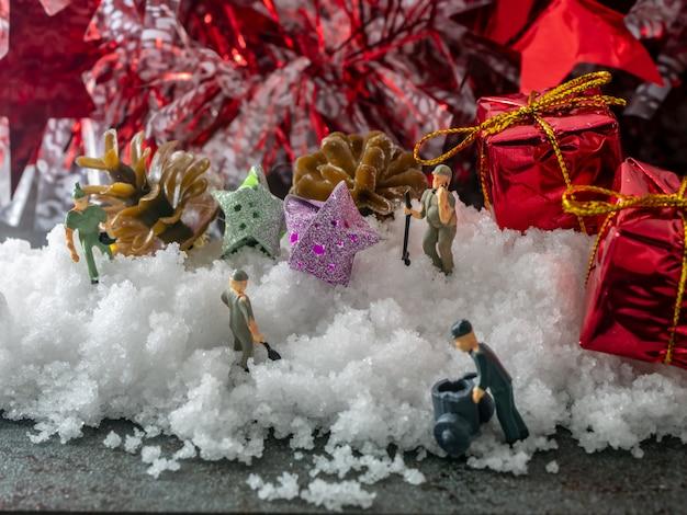 Симуляторная работа в рождество