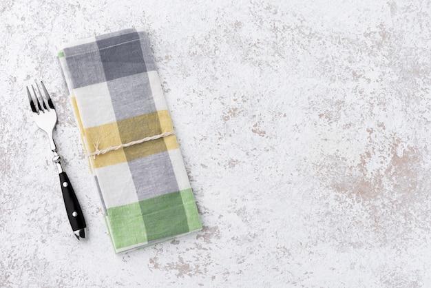 Космическая винтажная ложка и вилка с пеленкой