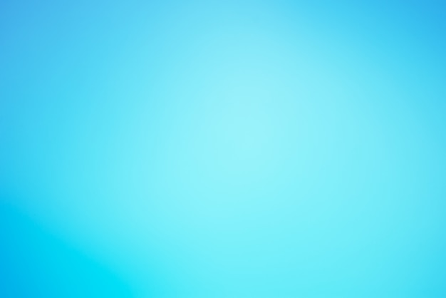 水色の色の背景をぼかし