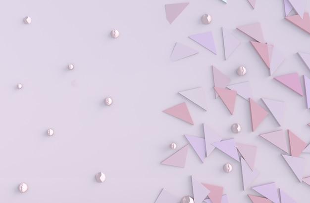 愛のピンクの背景