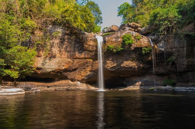 国立公園、タイの滝