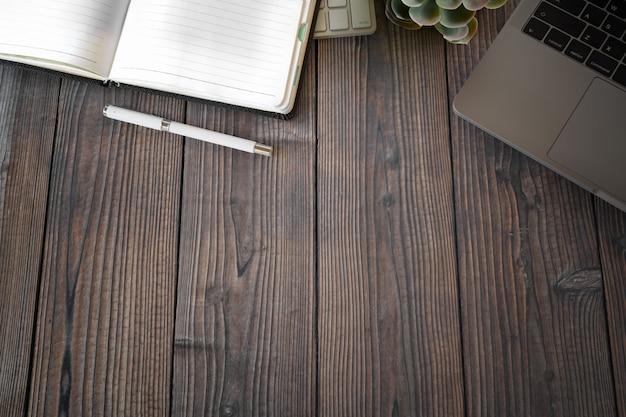 事務用品とコピースペースオフィス木製ワークスペース
