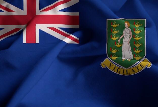 イギリス領バージン諸島の旗