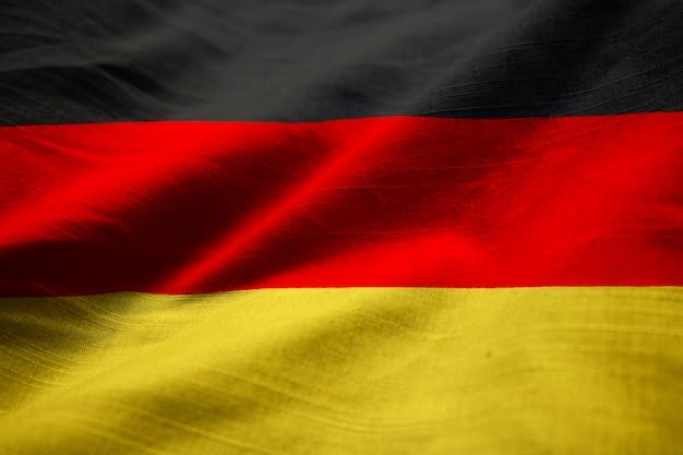 フクロウ、ドイツ、旗