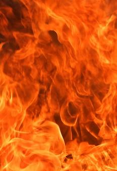 抽象的な炎火炎背景。