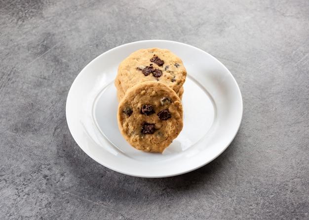 Шоколадное печенье, домашнее шоколадное печенье