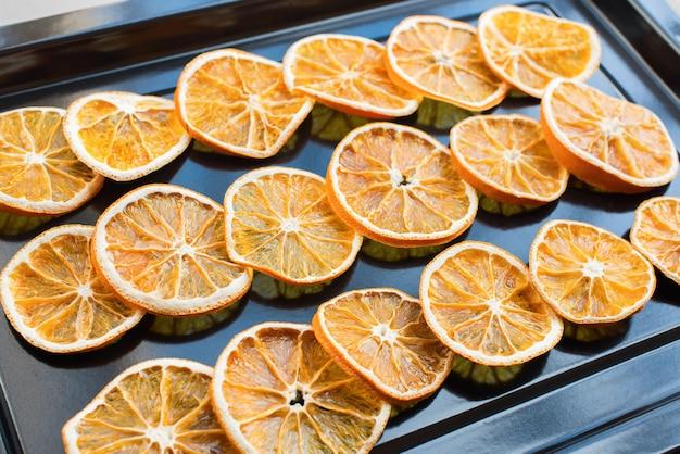 Сушка сегментов апельсинов в духовке