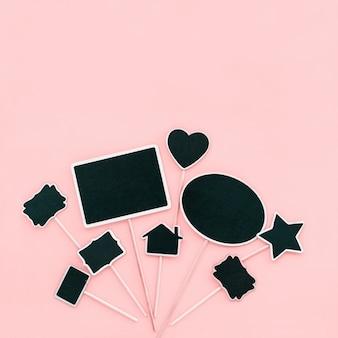 Рамки для меловой доски пара предметов приглашение на вечеринку