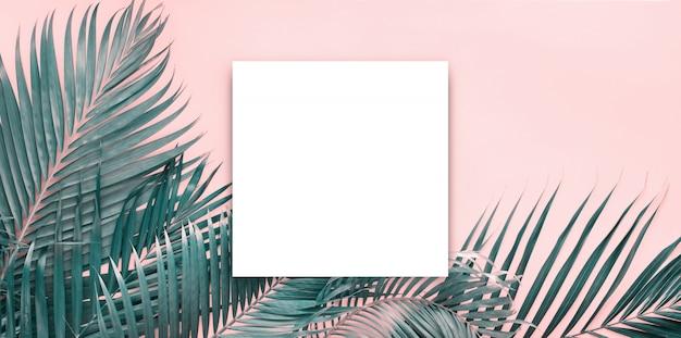 白いパパの空白のパンフレットのモックアップは、白